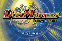 Duel Masters - Sempai Legends (U)(Venom) Title Screen