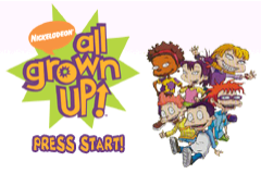 All Grown Up! Volume 1 - Gameboy Advance Video (U)(Rising Sun) Title Screen
