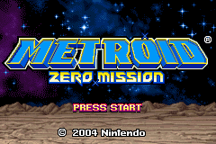 Metroid - Zero Mission (J)(Caravan) Title Screen