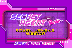 Barbie Secret Agent (E)(Independent) Title Screen