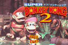 Super Donkey Kong 2 (J)(Caravan) Title Screen