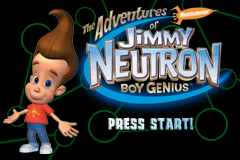 The Adventures of Jimmy Neutron Volume 1 - Gameboy Advance Video (U)(Psychosis) Title Screen