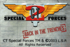 CT Special Forces 2 - Back in The Trenches (U)(Chameleon) Title Screen