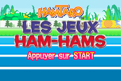Hamtaro - Ham-Ham Games (E)(Rising Sun) Title Screen