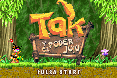 Tak and the Power of JuJu (E)(Independent) Title Screen