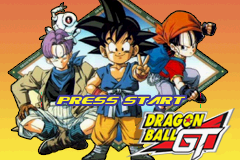 Dragon Ball GT Volume 1 - Gameboy Advance Video (U)(Rising Sun) Title Screen