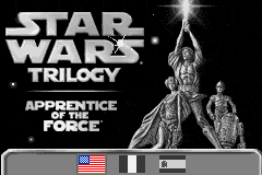 Star Wars Trilogy - Apprentice of the Force (U)(Hyperion) Title Screen