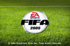 FIFA 2005 (U)(Venom) Title Screen