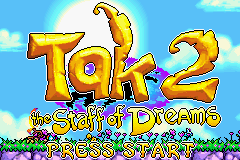 Tak 2 - The Staff of Dreams (U)(Venom) Title Screen