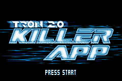 Tron 2.0 - Killer App (U)(Rising Sun) Title Screen