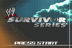 WWE Survivor Series (U)(Rising Sun) Title Screen