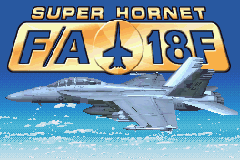 F-18 Super Hornet (U)(Rising Sun) Title Screen
