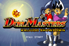 Duel Masters - Kaijudo Showdown (U)(Venom) Title Screen