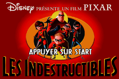 Les Indestructibles (E)(Rising Sun) Title Screen