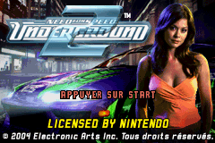 Need for Speed Underground 2 (U)(Venom) Title Screen