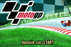 Moto GP & GT Advance 3 Double Pack (E)(Independent) Title Screen