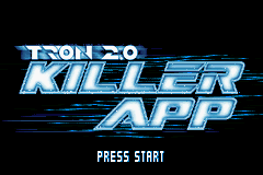 Tron 2.0 - Killer App (E)(BatMan) Title Screen