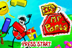 It's Mr Pants (U)(Rising Sun) Title Screen
