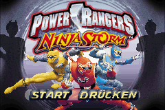 Power Rangers Pack (G)(Rising Sun) Title Screen