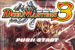 Duel Master 3 (J)(Caravan) Title Screen