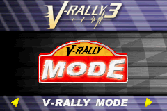 V-Rally 3 (U)(Rising Sun) Title Screen