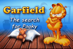Garfield - The Search For Pooky (E)(Rising Sun) Title Screen