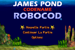 James Pond - Codename Robocod (E)(Rising Sun) Title Screen