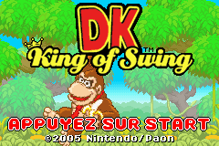 DK - King of Swing (E)(RisingCaravan) Title Screen