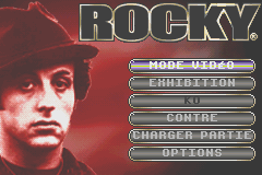 Rocky (E)(Independent) Title Screen