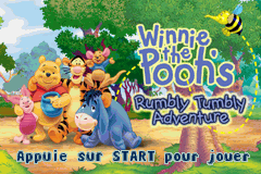 Winnie the Pooh's Rumbly Tumbly Adventure (U)(TrashMan) Title Screen