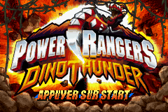 Power Rangers Dino Thunder (E)(RisingCaravan) Title Screen