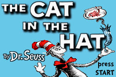 The Cat in the Hat (U)(TrashMan) Title Screen