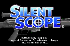 Silent Scope (E)(Independent) Title Screen