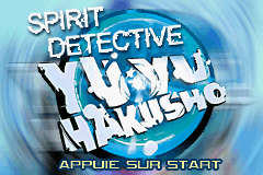 Yu Yu Hakusho - Spirit Detective (E)(Rising Sun) Title Screen