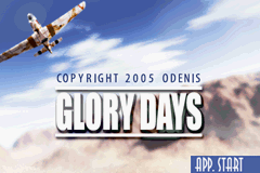 Glory Days - The Essence of War (E)(Endless Piracy) Title Screen