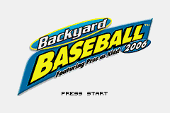 Backyard Baseball 2006 (U)(TrashMan) Title Screen