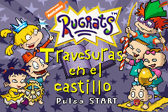 Rugrats - Castle Capers (S)(Independent) Title Screen