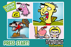 Cartoon Network Collection Platinum Edition - Gameboy Advance Video (U)(Supplex) Title Screen