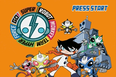 Super Robot Monkey Team Volume 1 - Gameboy Advance Video (U)(TrashMan) Title Screen