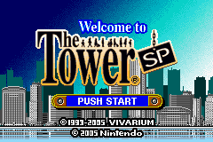 The Tower SP (J)(Caravan) Title Screen