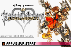 Kingdom Hearts - Chain of Memories (E)(Eternity) Title Screen