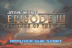 Star Wars Episode III - Revenge of the Sith (E)(RivalRoms) Title Screen