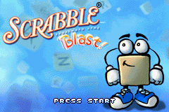 Scrabble Blast! (U)(TrashMan) Title Screen