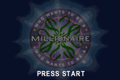 Who Wants To Be A Millionaire (A)(Independent) Title Screen