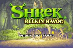 Shrek - Reekin' Havoc (E)(Independent) Title Screen