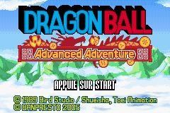 Dragonball Advanced Adventure (E)(Rising Sun) Title Screen