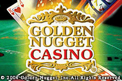 2 in 1 - Golden Nugget Casino & Texas Hold'em Poker (U)(Rising Sun) Title Screen
