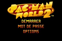 Pac-Man World 2 (E)(Trashman) Title Screen