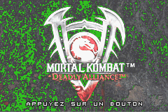Mortal Kombat - Deadly Alliance (E)(Independent) Title Screen