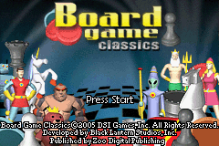 Board Game Classics (E)(Independent) Title Screen
